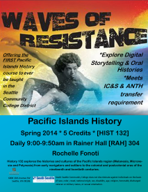 South Seattle College History 132 Spring 2014 Poster